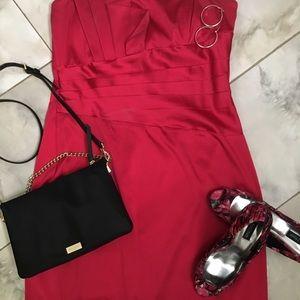 Dresses & Skirts - Size 14 women's dress with Fan asymmetric detail